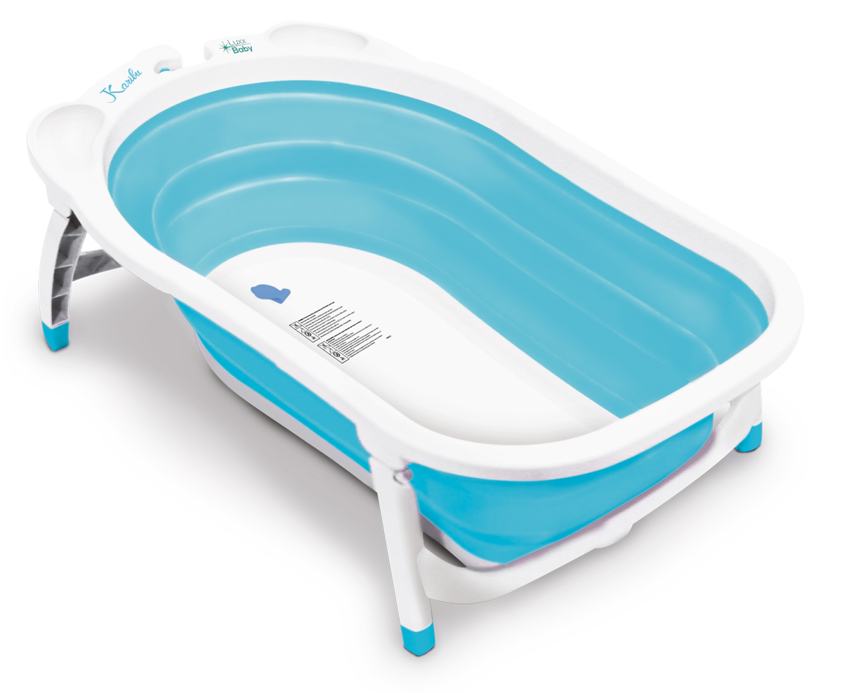 LuxxBaby BF1 Light Blue Folding Bath