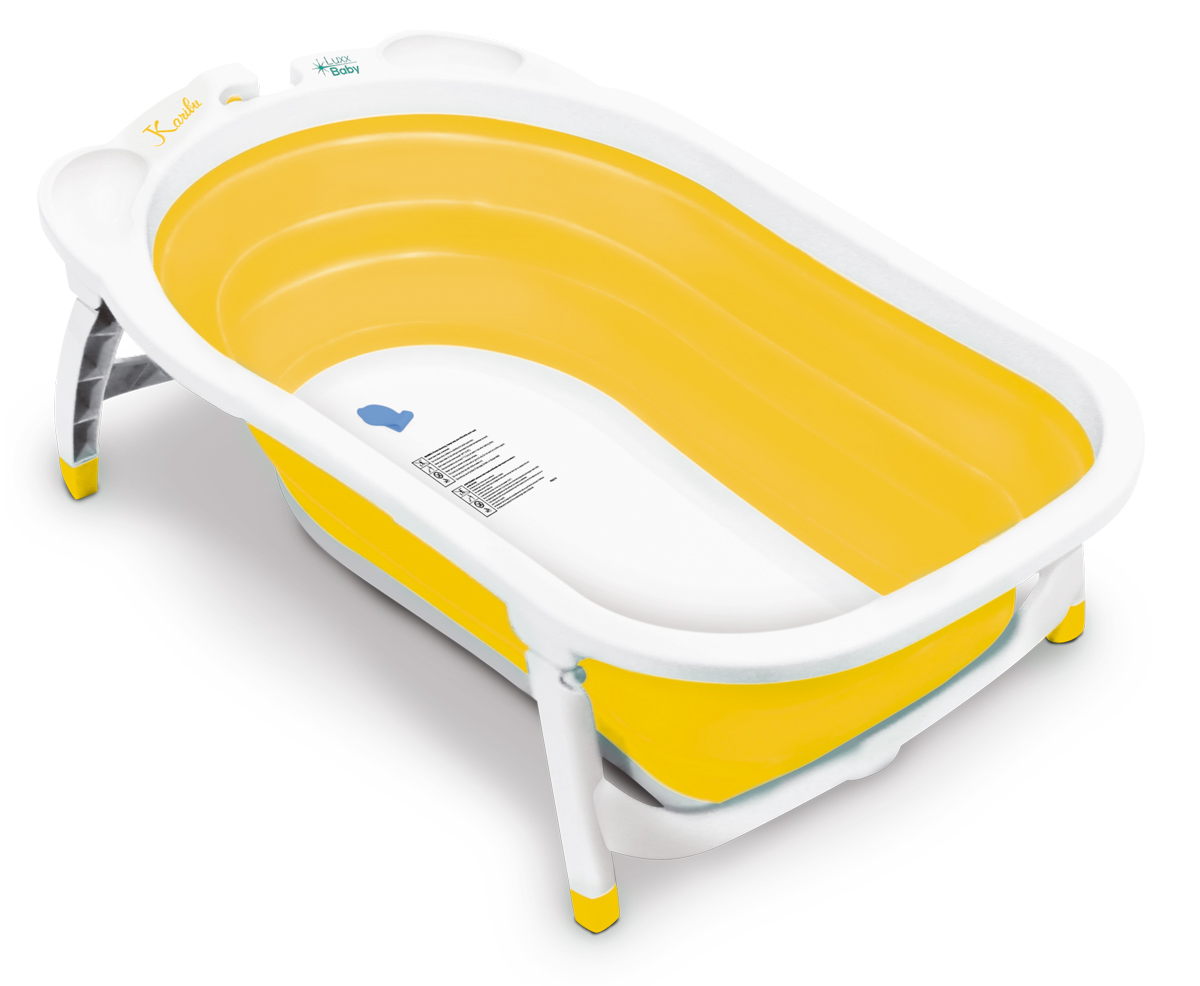 LuxxBaby BF1 Folding Bath Yellow